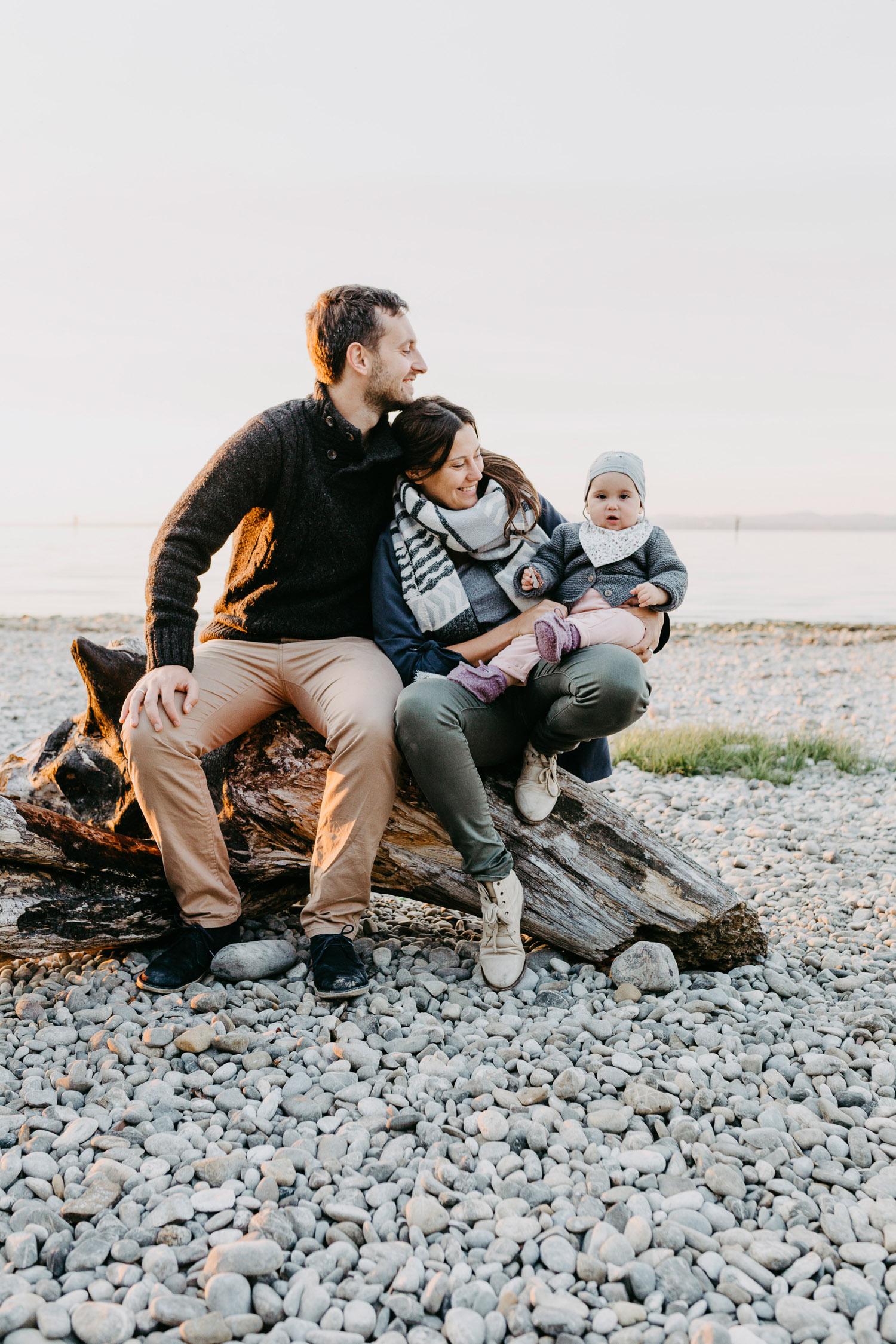 Fotos von Familie am See in Bregenz