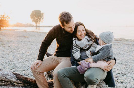 Natürliche Babyfotografie, Familienfotos