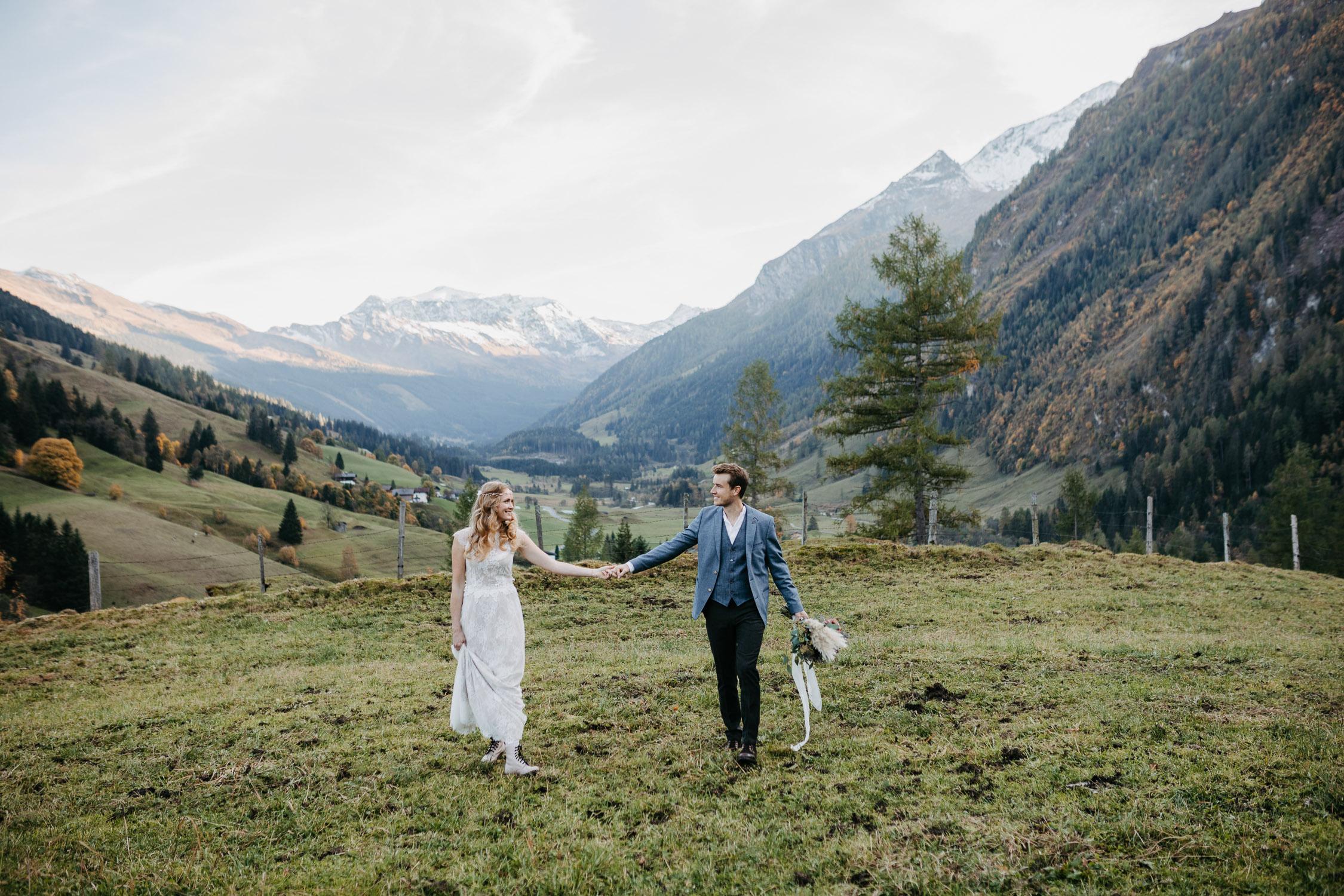 Hochzeit in den Bergen Vorarlberg