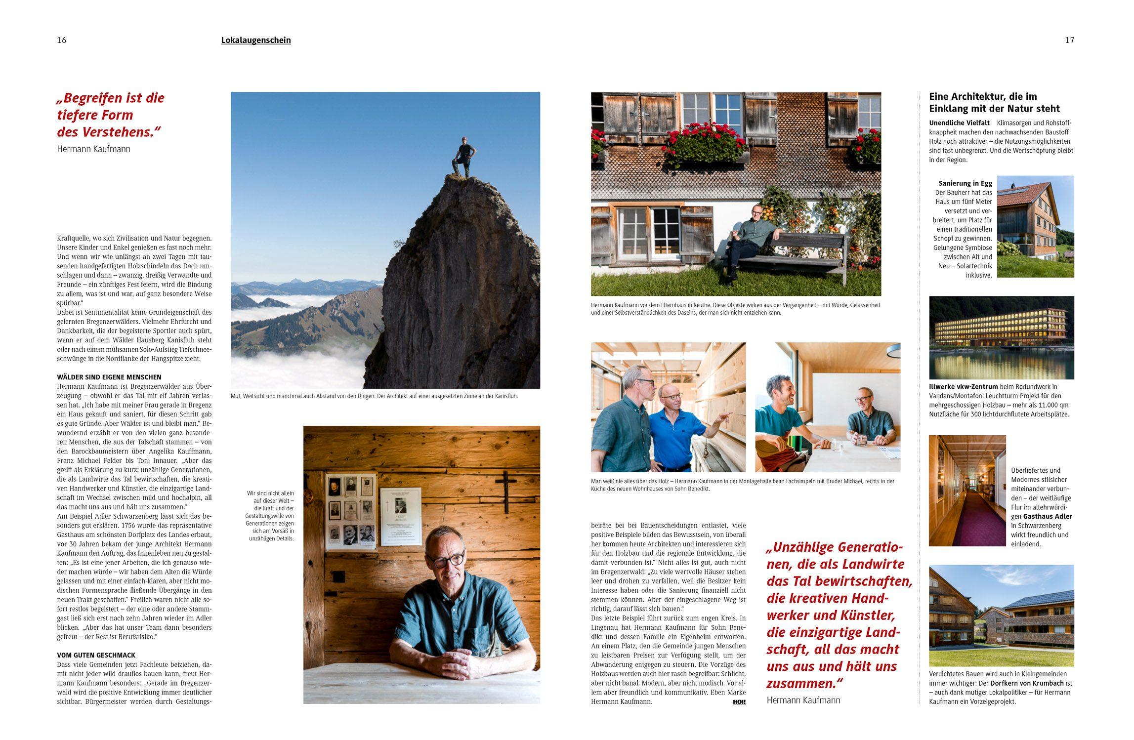 Referenz, Lisa Dünser Fotografie, Hoi, Das Vorarlberg Magazin
